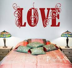 Floral Love Wedding Wall Decal Memorial Day Love Floral Decor Etsy