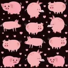 cute pink wallpaper free vector