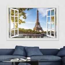 Personalized Eiffel Tower Wall Decal Paris Canada Etsy Design Sticker Amazon Removable Walmart Hobby Lobby Giant Vamosrayos