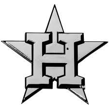 Houston Astros Premium Metal Auto Emblem