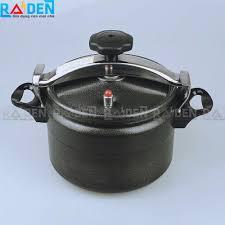 Nồi áp suất ga 5L Fujika FJ-AG198D dùng được bếp từ - Gia Dụng Raiden