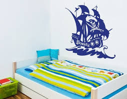 Pirate Ship Ii Kids Wall Decals Boys Sticker Mural Vinyl Art Home Decor Contemporary Wall Decals By Style And Apply