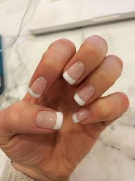 Gel French Manicure With Images Gel French Manicure Gel Nails