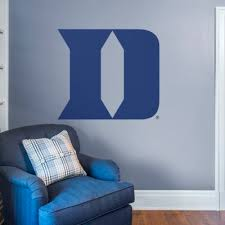 Duke Blue Devils Logo Giant Officially Licensed Removable Wall Decal Wall Decal Shop Fathead For Duke Blue Devils Decor