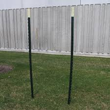 Snow Fence And T Posts