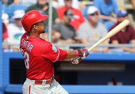 Former Phillie Aaron Altherr Goes Deep Against Former Phillie
