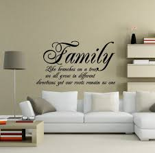 Items Similar To Family Roots Quote Vinyl Wall Art Decal Black On Etsy 49 Quotes
