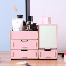 mirror dressing box storage rack