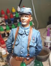 New Jon Smith Modellbau WW1 French Chauchat MG Gunner ...