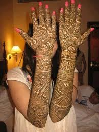 Wedding Stylish Full Hand Mehndi Design