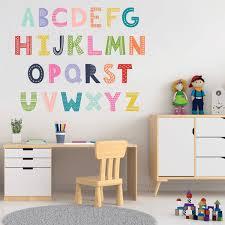 Fanciful Alphabet Wall Decals Labeldaddy