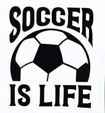 Custom Soccer Is Life Decal Personalized Sports Gift In 2020 Personalized Sports Gifts Custom Soccer Soccer Vinyl Decal
