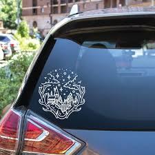 Hogwarts Vinyl Decal Sticker Etsy