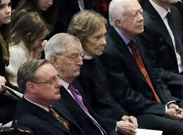 Joan Mondale, Wife of Former Vice President, Honored at Memorial