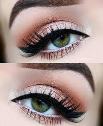 natural eye makeup for green eyes