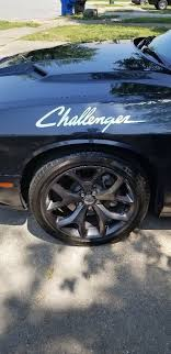 Dodge Challenger Decal Various Colors Miracle Master