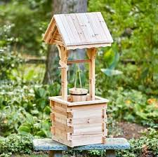 outdoor planter decorative wishing well