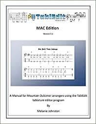 Amazon.com: Melanie Johnston - TablEdit Manual, Macintosh Edition: Musical  Instruments