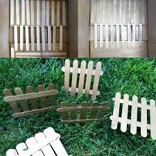 Popsicle Stick Fence Popsicle Stick Art Popsicle Crafts Popsicle Sticks