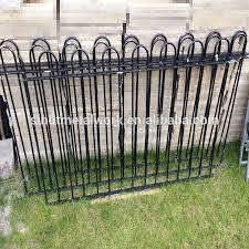 Victorian Style Antique Black Wrought Iron Fence Metal Garden Grass Fence Buy Small Garden Fence Decorative Garden Fence Cheap Metal Fencing Product On Alibaba Com