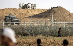 Gaza Man Throws Grenades At Security Fence Is Shot And Arrested The Times Of Israel