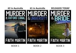 DI Hillary Greene series by Faith Martin   Contemporary fiction, Female  detective, Faith