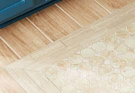 create the illusion of wood flooring