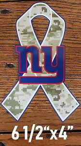 Ny Giants Lic Decal Military Nfl Die Cut Window Decal Football Car Sticker 7 99 Picclick