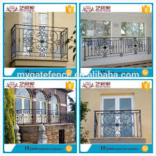 Yishujia Factory Metal Balcony Railing Iron Balcony Railing Veranda Fences Design View Metal Balcony Railing Yishujia Product Details From Shijiazhuang Yishu Metal Products Co Ltd On Alibaba Com