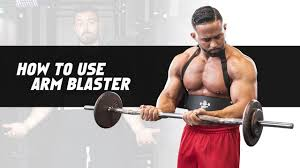 how to use arm blaster dmoose fitness