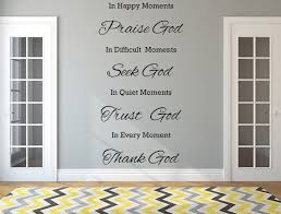 happy moments wall sticker praise god decal christian