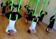 aerial yoga antigravity fitness