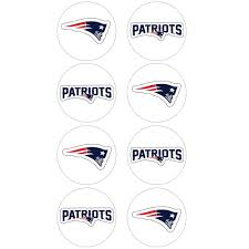 New England Patriots Stickers 8ct Party City
