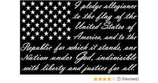 Auto Parts And Vehicles 3 Pack American Flag Pledge Of Allegiance Vinyl Sticker Decal Truck Usa Car Truck Graphics Decals