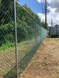Amechi Fence 6 Ft High Green Chain Link With Galvanized Facebook