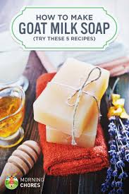 5 goat milk soap recipes learn how to