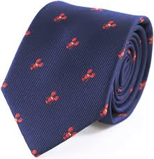 Gift Box Red Lobster Navy Tie at Amazon ...