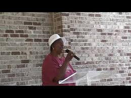 Ms Ada Robinson Delivers a Songs During PHCM Parking Lot Service ...
