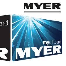 myer egift card with bonus 10 myer