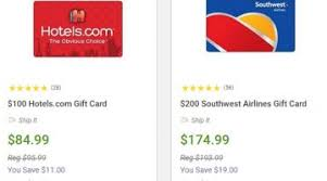 save on many gift card brands