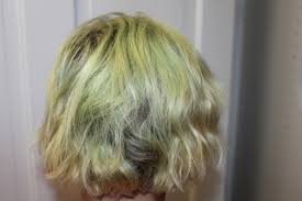 fix your hair when it turns green