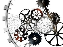 歯車と時計イラスト | 歯車 イラスト, 時計, 時計 デザイン