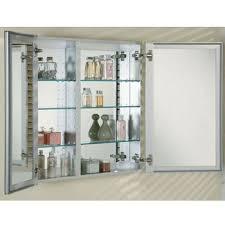 double door recessed medicine cabinet