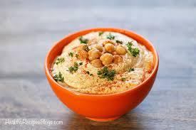 homemade hummus recipe healthy