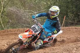 Jamie Powell, 2nd in the Vets - MotoHead
