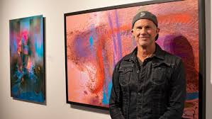 Chad Smith Swapping Drumsticks for Paint Brushes