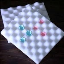 2 cái Bọt Khô Pads Thảm Xốp Bánh Kẹo Mềm Sugar Hoa công cụ Khuôn Mat Hình  Sponge Pad Gum Paste Khuôn Bakeware công cụ|bánh pad miếng bọt biển