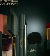 mac cosmetics x zac posen ad caign