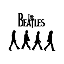 The Beatles The Beatles Abbey Road Road 2 Vinyl Sticker
