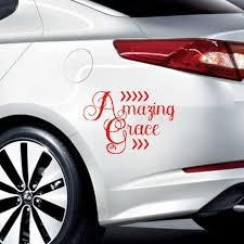 Amazing Grace Vinyl Car Window Decal Sticker Faith Hope Christian How Sweet Decal Sticker Car Window Decalsvinyl Car Aliexpress